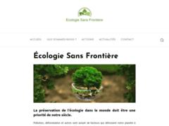 Détails : Ecologie Sans Frontière