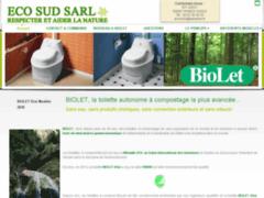 Création du site Internet de ECO SUD (Entreprise de Cuisiniste à TARBES CEDEX )