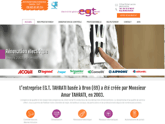 EGT TAHRATI: Electricien à BRON