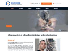Création du site Internet de MONSIEUR HICHAM CHLIH  (Entreprise de Electricien à SAINT GRATIEN )