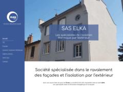 Création du site Internet de SAS Elka (Entreprise de Façadier à VILLEURBANNE )