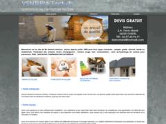 Création du site Internet de Ventura Enduit (Entreprise de Façadier à GUIDEL )