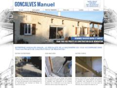 Création du site Internet de Goncalves Manuel (Entreprise de Maçon à ARLES )