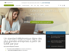 Détails : Service de réceptionniste virtuel de communication