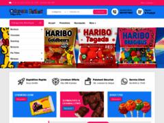 Détails : espace bonbon, vente en ligne de confiseries