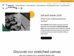 Voiles de protection solaire pour terrasse et jardin