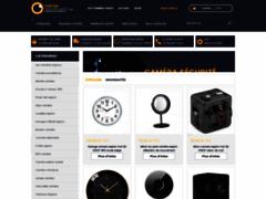 Détails : Espion-surveillance : le spécialiste de la vente des caméras espionnes