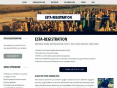 Détails : La plateforme pour un formulaire ESTA en français