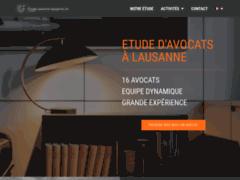 Détails : Etude d'avocats basée à Lausanne
