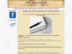 Détails : Eve Rousselet