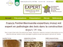 Création du site Internet de NORMANDIE EXPERTISES IMMO (Entreprise de Diagnostiqueur à TILLY )