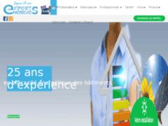 Création du site Internet de Expert Energies Pro (Entreprise de Bureau d'études à GAP )