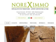Création du site Internet de Normandie Expertises (Entreprise de Diagnostiqueur à DEAUVILLE )