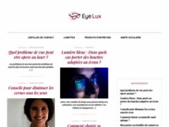 Eyelux boutique de l'optique spécialisée lentilles de contact