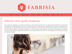 Détails : Fabrisia guide shopping