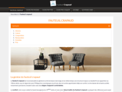 Détails : Tout savoir sur les fauteuils crapaud