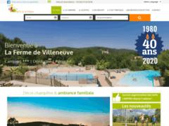 Camping Ferme de Villeneuve Saint André d'Allas en dordogne périgord noir