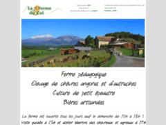 Création du site Internet de La Ferme du Col (Entreprise de Centre équestre à JARJAYES )