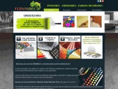 Création du site Internet de FERNANDECO (Entreprise de Platrier à COMMUNAY )