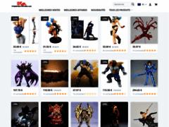Figurines-mangas.com, figurines de héros des Studios Marvel