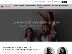 Détails : Financière Investissement : aide fiscalité et patrimoine