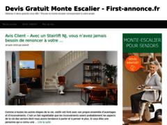 Détails : Site de petites annonces gratuites immobilier, véhicules d'occasion