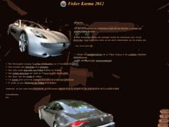 Détails : Tout ce qu'il faut savoir sur la Fisker Karma 2012