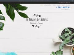 Détails : fleuriste-leparadisdesfleurs.fr