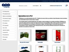 Détails : Fnadisplay fabricant de PLV  carton, plastique, bois et metal