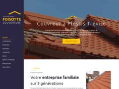 FOISOTTE COUVERTURE: Couvreur charpentier à LE PLESSIS-TREVISE