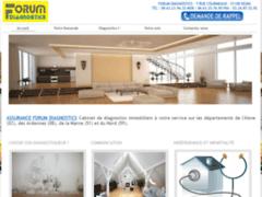 Création du site Internet de Forum Diagnostics (Entreprise de Diagnostiqueur à REIMS )