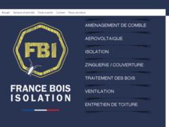Création du site Internet de France Bois Isolation  (Entreprise de Isolation à COURNON D'AUVERGNE  )
