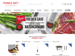 Francis Batt : Accessoires de cuisine de qualité