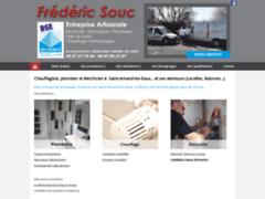 Création du site Internet de Frederic Souc (Entreprise de Electricien à ST- AMAND- LES- EAUX )