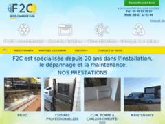 Création du site Internet de FROID CHARENTE CLIMATISATION (Entreprise de Chauffagiste à BRIE )