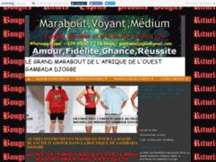 Détails : GRAND MARABOUT DE L'AFRIQUE DE L'OUEST GAMBADA DJOGBE +229 9567 7726
