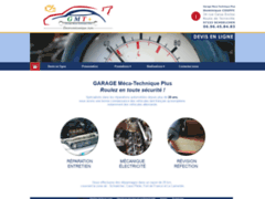 Création du site Internet de Garage Meca Technique Plus (Entreprise de Bureau d'études à SCHOELCHER )