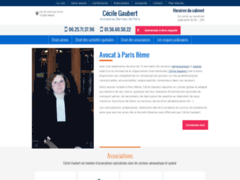 Cécile Gaubert, Avocat à Paris 8