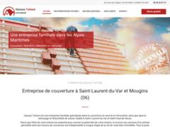 Création du site Internet de Gazaux toiture (Entreprise de Couvreur à SAINT LAURENT DU VAR )