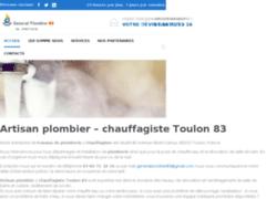 Artisan plombier - chauffagiste Toulon 83 - Tel: 07 60 71 32 16
