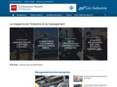 Geo-Industrie : Magazine du management industriel en France