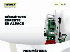 Détails : Le site web du géomètre GEOMEX