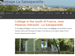 Site Détails : La Salsepareille, gîtes Pézenas dans l'Hérault.