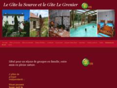 Gite de groupe La Source