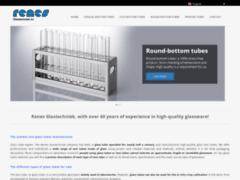 Fabrication des tubes en verre