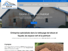 Création du site Internet de Glonin Entretien Habitat (Entreprise de Jardinier à AUXERRE )