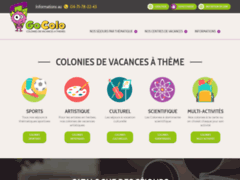 Détails : Colonies de vacances à thème pour enfants et adolescents