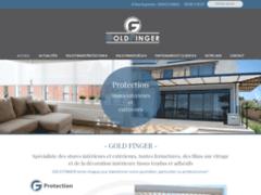 Création du site Internet de Gold Finger (Entreprise de Menuisier à VILLENAVE-D )