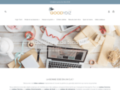 Détails : Goodydiz, le site des idées cadeaux