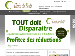 Détails : Grain de Bioté : savons, cosmétiques bio écologiques